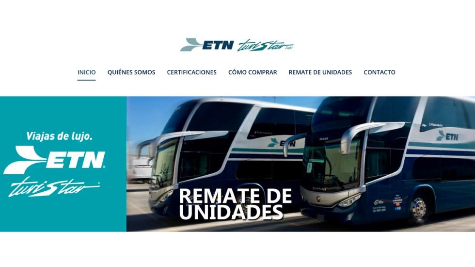 Guardia Nacional alerta sobre página falsa de autobuses ETN - La Dirección Científica de la Guardia Nacional informó que detectó un sitio que suplanta la identidad de la empresa de autobuses ETN Turistar Lujo