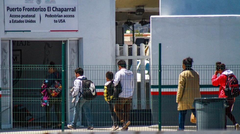 Abogados y activistas demandan información por envío a México de solicitantes de asilo - Solicitantes asilo México Estados Unidos frontera