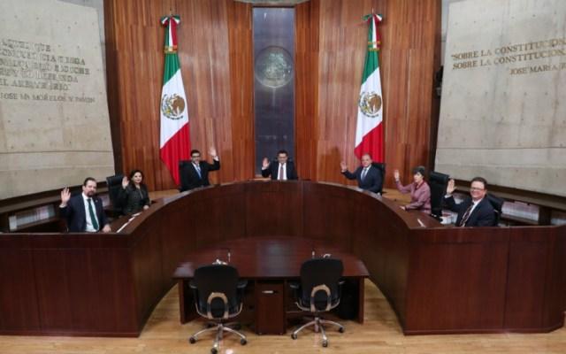 Difieren sesión de TEPJF donde se resolvería dirigencia nacional de Morena - Foto de TEPJF