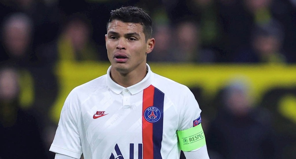 París Saint-Germain pierde a Thiago Silva y Ander Herrera por lesión - Thiago Silva PSG Francia París Saint Germain