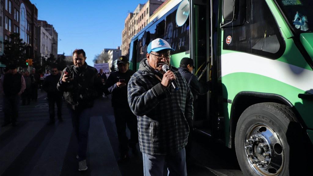 Los puntos desde donde saldrá la megamarcha de transportistas este miércoles - Transportistas Ciudad de México protesta