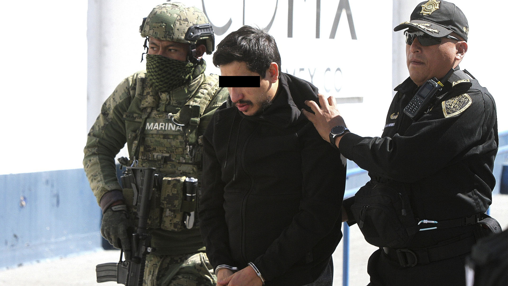 """Óscar Andrés """"N"""", alias """"El Lunares"""", presunto operador de La Unión Tepito"""