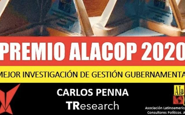 TResearch gana Premio ALaCop a la Mejor investigación de gestión gubernamental - Foto Especial