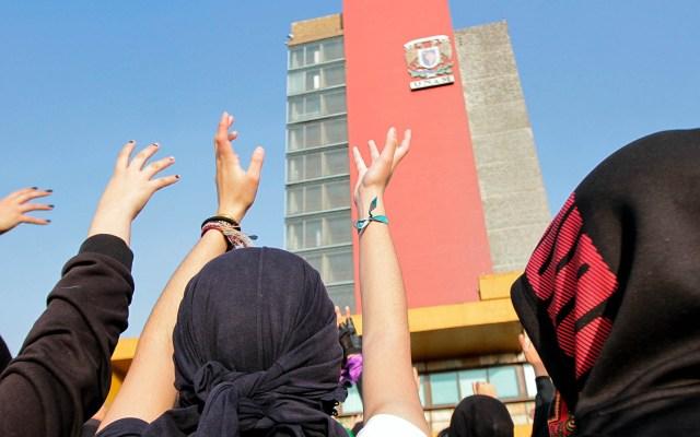 UNAM responde a pliego petitorio de estudiantes de Prepa 9 - UNAM estudiantes manifestación