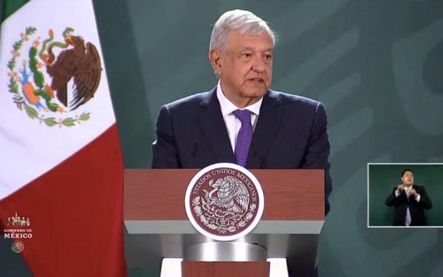 AMLO niega que cifras sobre seguridad en SLP estén 'maquilladas' - El presidente Andrés Manuel López Obrador.