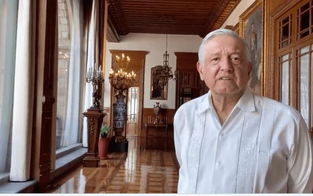 """Celebra AMLO aprobación del T-MEC en Canadá; """"nos ayuda mucho ante la incertidumbre"""", destaca - Andrés Manuel López Obrador. Captura de Pantalla."""
