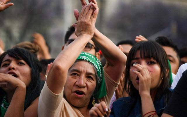 Ebrard asegura que solo el respeto a la mujer transformará a la sociedad - Asistentes al concierto Tiempo de Mujeres en la CDMX con motivo del Día Internacional de la Mujer. Foto de Notimex