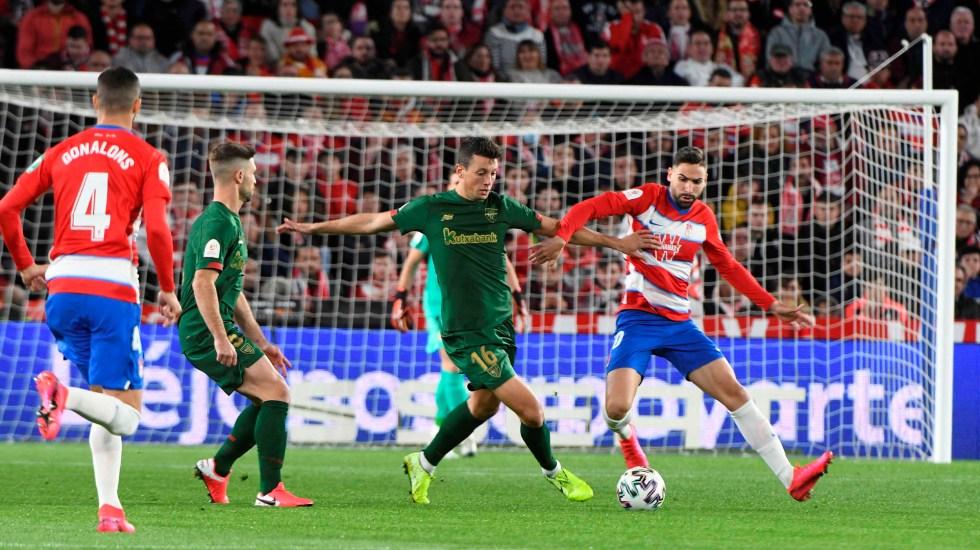 Athletic avanza a la final de la Copa del Rey pese a derrota frente a Granada - Athletic vs Granada. Foto de EFE