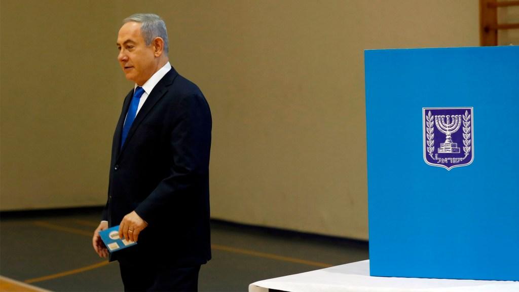 Encuestas a pie de urna en Israel dan como ganador a Netanyahu - Benjamin Netanyahu