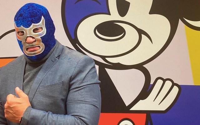 Disney realizará serie sobre Blue Demon Jr. - Blue Demon Jr Disney
