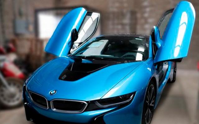 Subastarán en Los Pinos 127 vehículos el próximo 8 de marzo - BMW I8 coupe, Modelo 2016 que se subastará el 8 de marzo en Los Pinos. Foto de Indep