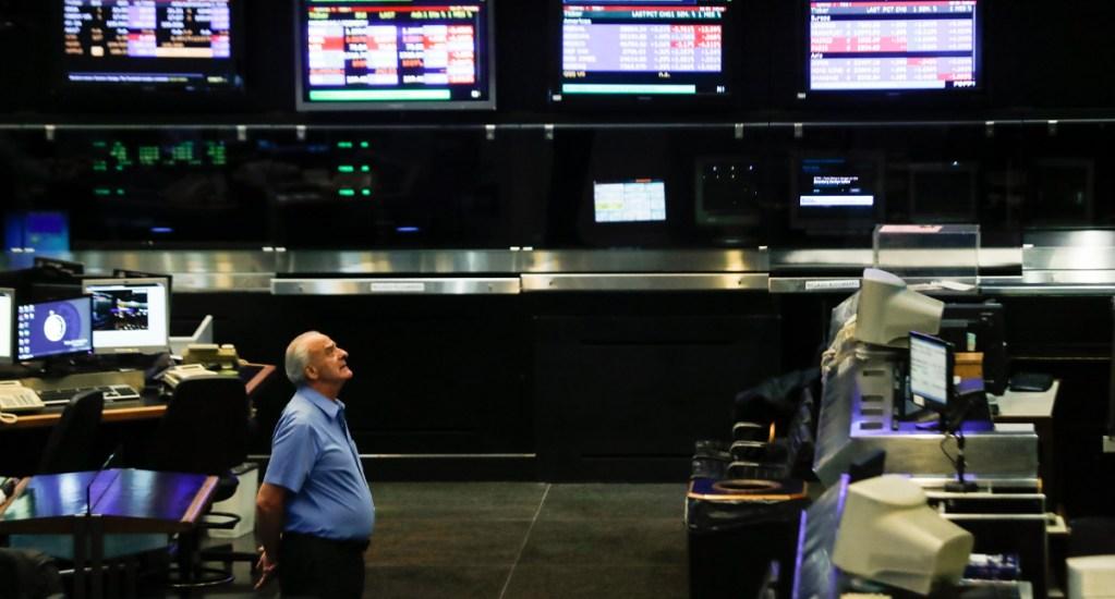 Bolsa de Buenos Aires baja 12.17 % por expansión de COVID-19 y caída del petróleo - En todo el mundo las bolsa abrieron en rojo y las operaciones de Wall Street se detuvieron durante 15 minutos después de que el indicador S&P se desplomó un 7 %