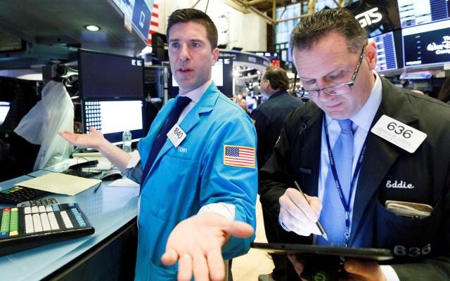Paquete de ayudas económicas de la Casa Blanca rescata a Wall Street - Bolsa de Valores de Nueva York. Foto de EFE