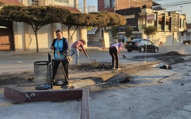 Reactivan servicios públicos tras jornada violenta en Buenavista, Michoacán - Foto de Twitter Gordiano Zepeda