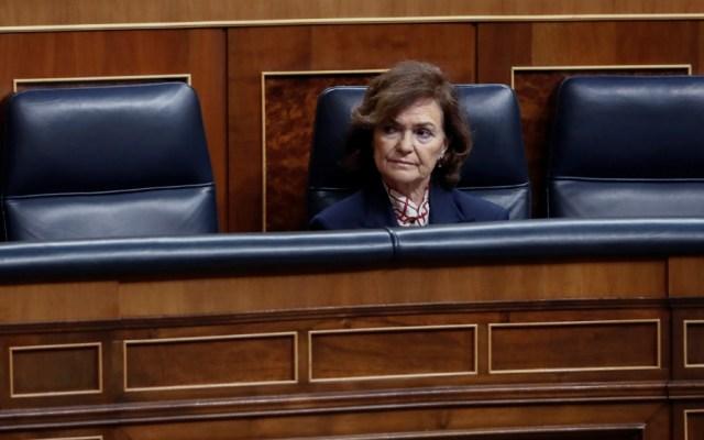 Vicepresidenta del gobierno español da positivo por COVID-19 - Foto de EFE