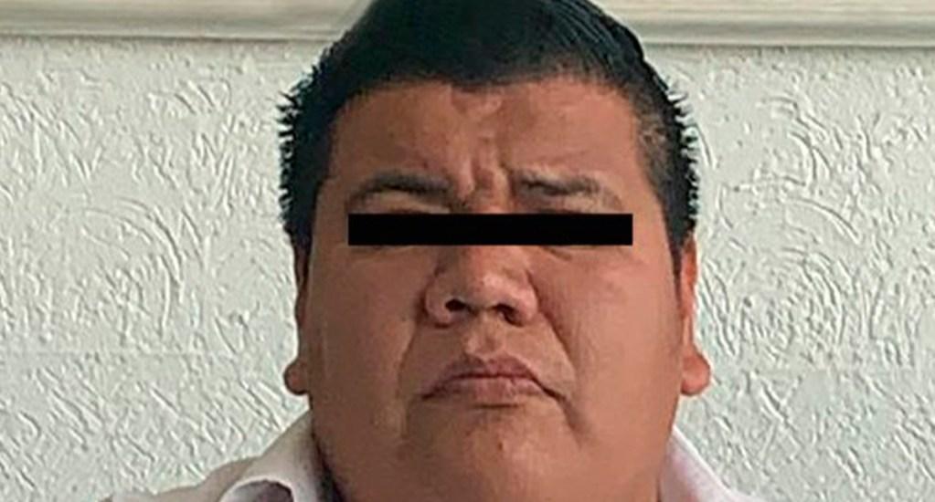 Detienen a chofer en Ecatepec que intentó secuestrar a joven - Conductor de Uber detenido por robo a usuaria. Foto de @FiscalEdomex