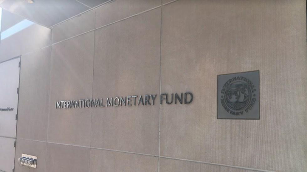 Deuda global se disparó al 98 por ciento del PIB en 2020, según el FMI - Entrada del Fondo Monetario Internacional (FMI). Foto de Google Maps / Pret Alush Virtual Tours