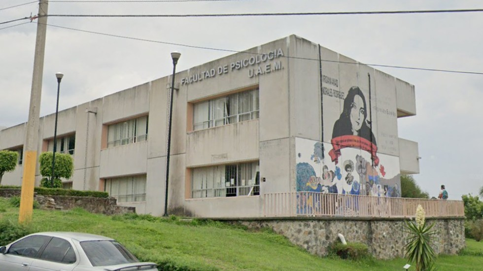 Autónoma de Morelos destituye a profesores acusados de acoso sexual - Facultad de Psicología de la UAEM. Foto de Google Maps