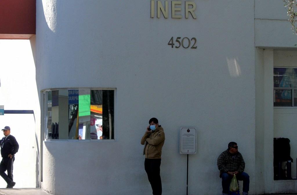 'Caso cero' de COVID-19 en Ciudad de México podría ser dado de alta del INER - Foto de Notimex
