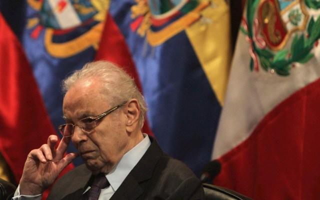 Murió a los 100 años Javier Pérez de Cuellar, exsecretario general de la ONU - Javier Pérez de Cuéllar ONU Secretario