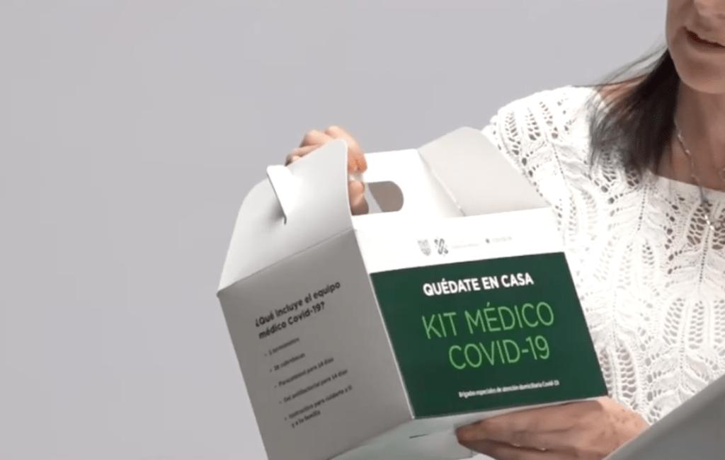 Cofepris autoriza té que se reparte en kits para personas con sospecha de COVID-19 - Captura de pantalla