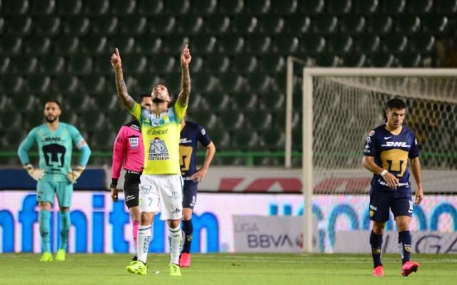 León vence a Pumas y asume liderato de Liga MX - Foto de Mexsport