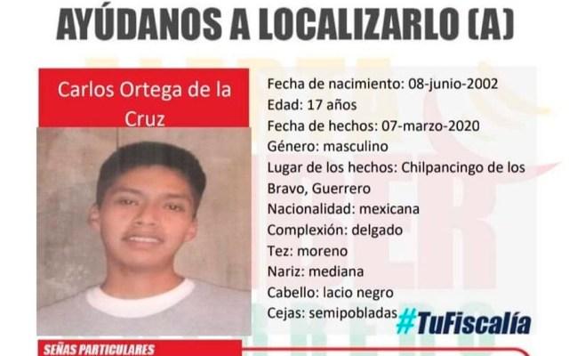 Localizan con vida a hijo de vocero de padres de normalistas de Ayotzinapa - Localizan con vida a hijo de vocero de padres de normalistas de Ayotzinapa