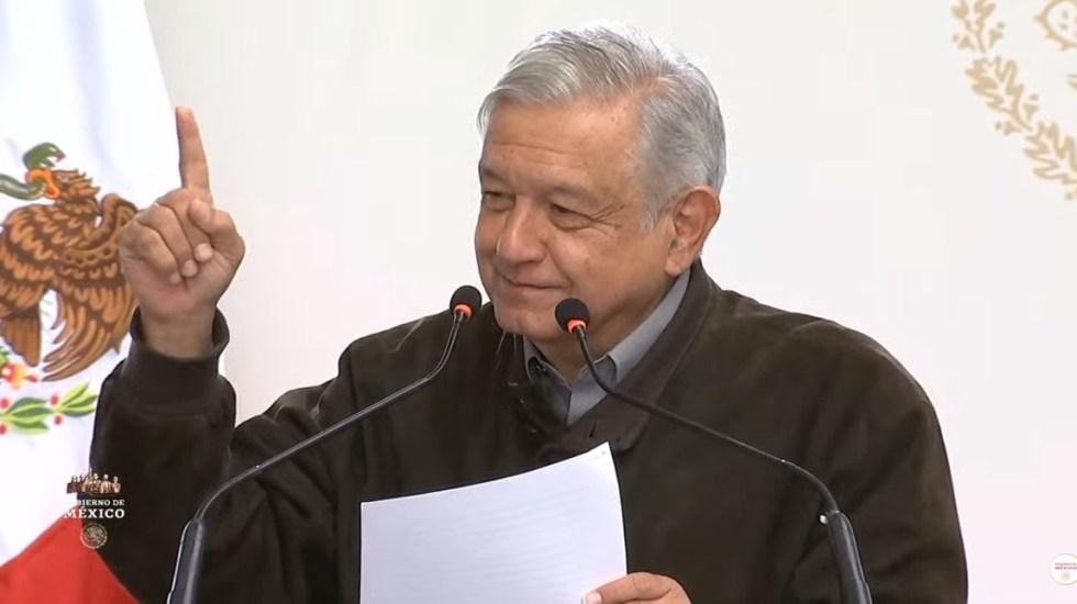 AMLO promete integrar a más mujeres a su gabinete - López Obrador en Día Internacional de la Mujer. Captura de pantalla