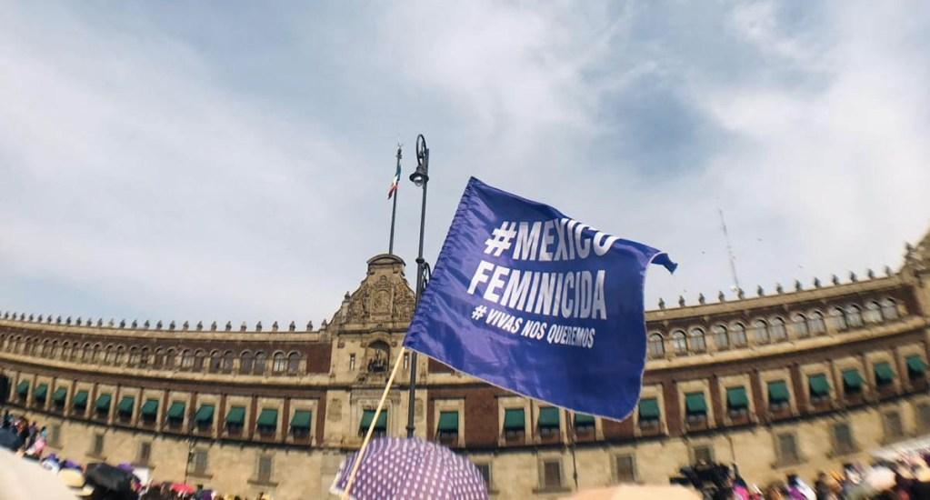 Marcha 8M feministas mujeres protesta Ciudad de México