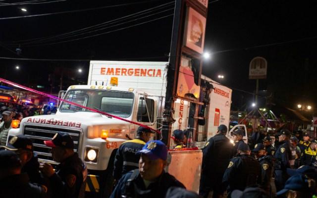 Permanecen hospitalizadas cuatro personas tras choque de trenes en Metro Tacubaya - Foto de Notimex
