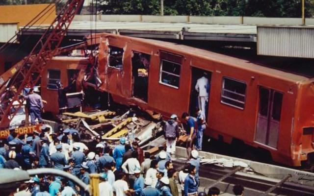 Van tres choques entre trenes en el Metro de la Ciudad de México - Van tres choques entre dos trenes en el Metro de la Ciudad de México