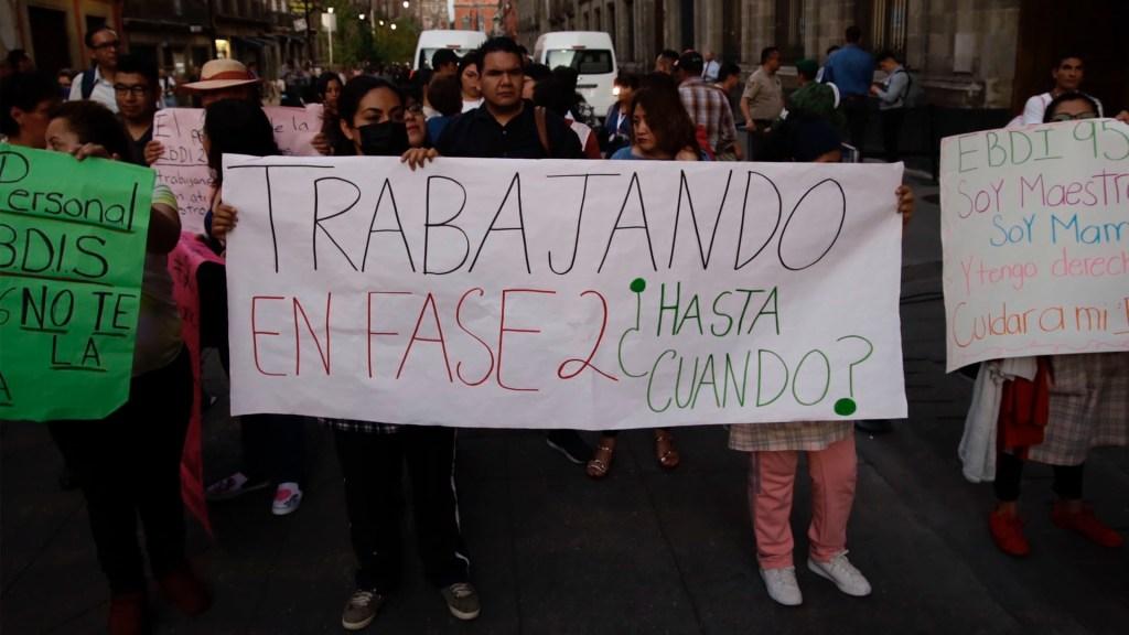 Las concentraciones de este lunes en la Ciudad de México - concentraciones movilizaciones covid-19 coronavirus