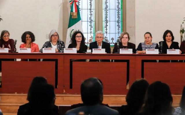 Mujeres del gabinete dan respaldo a López Obrador - Foto de Notimex