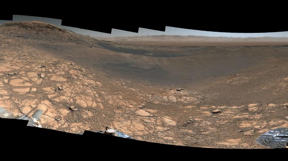 NASA muestra una panorámica de Marte con mil 800 millones de píxeles - Foto de NASA