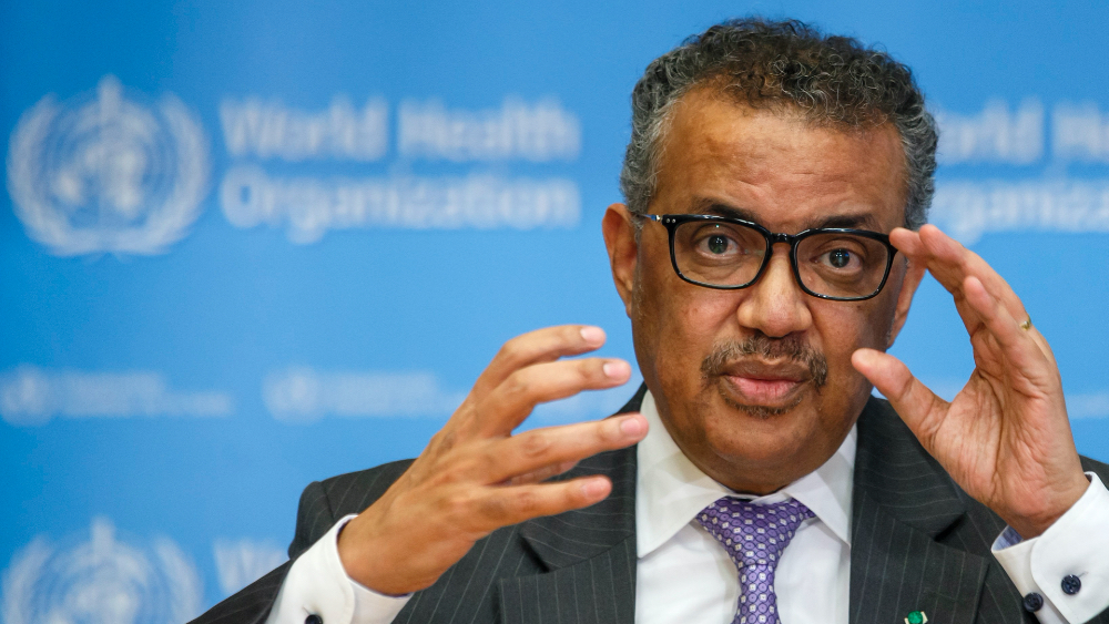 OMS confía que otros países ayudarán a cubrir recorte de fondos de Estados Unidos - Tedros Adhanom, presidente de la OMS. Foto de EFE