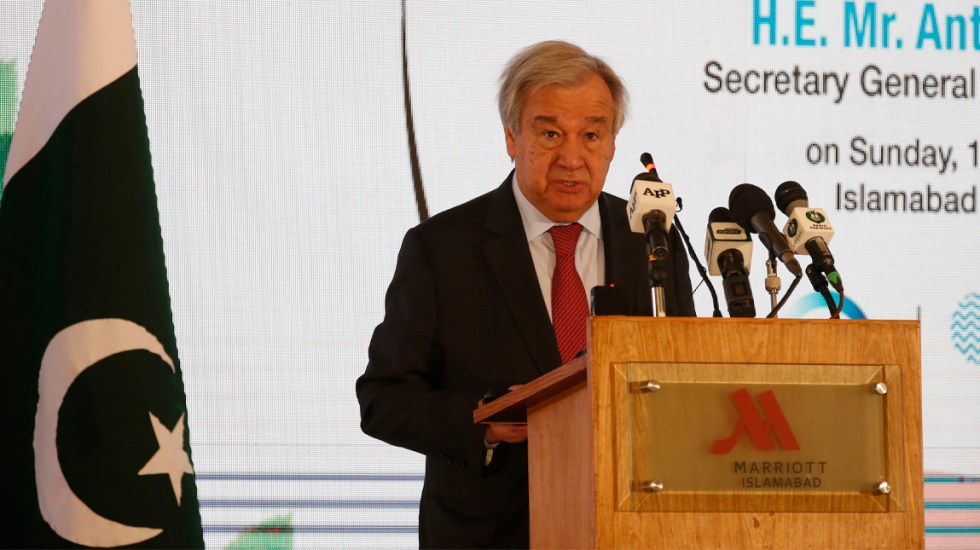 ONU pide no olvidar crisis climática por COVID-19 - António Guterres hizo un llamamiento para que la lucha contra el coronavirus no haga olvidar la necesidad de frenar la crisis climática