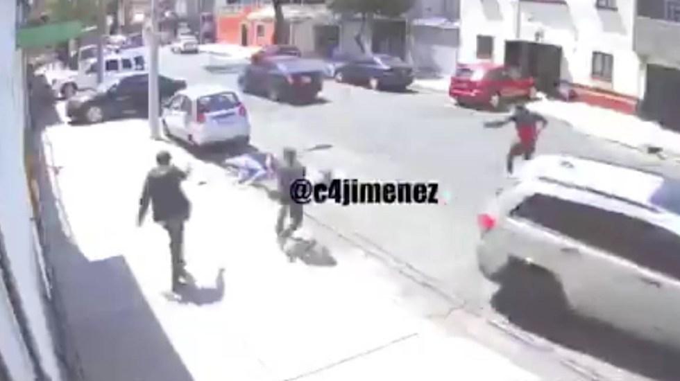 "#Video Así ejecutaron a ""La Kimby"", pareja de miembro de La Unión Tepito - Pareja Unión Tepito La Kimby"