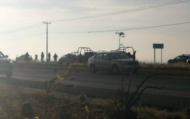 Emboscan a policías hidalguenses en Querétaro - Foto de El Sol de San Juan del Río