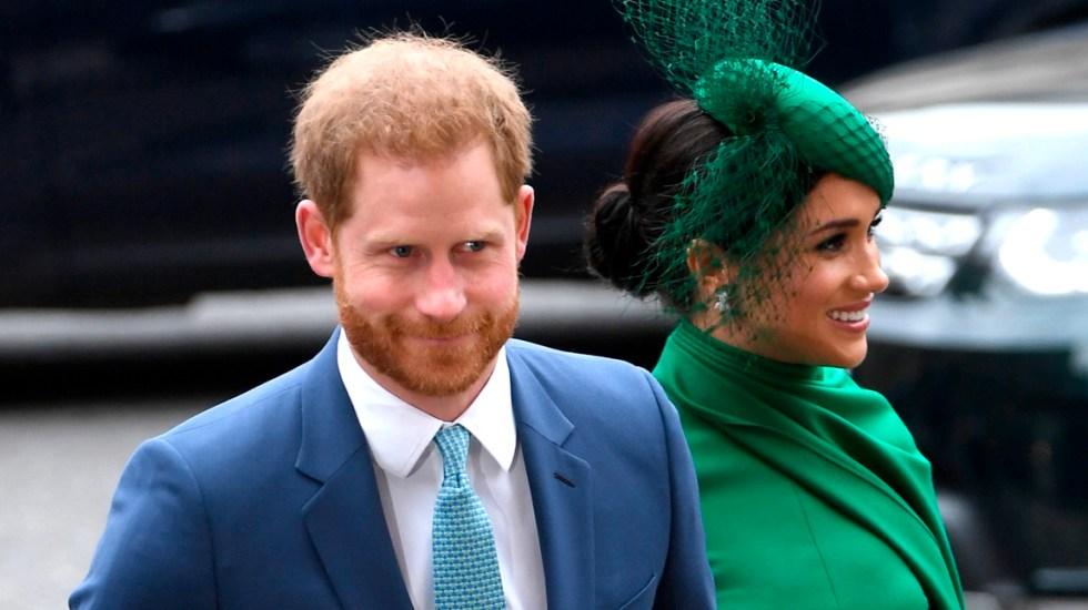 Enrique y Meghan participan en su último acto como miembros de la realeza - Los duques de Sussex se despidieron este lunes de sus labores reales con su participación en un servicio religioso en la abadía de Westminster, en Londres