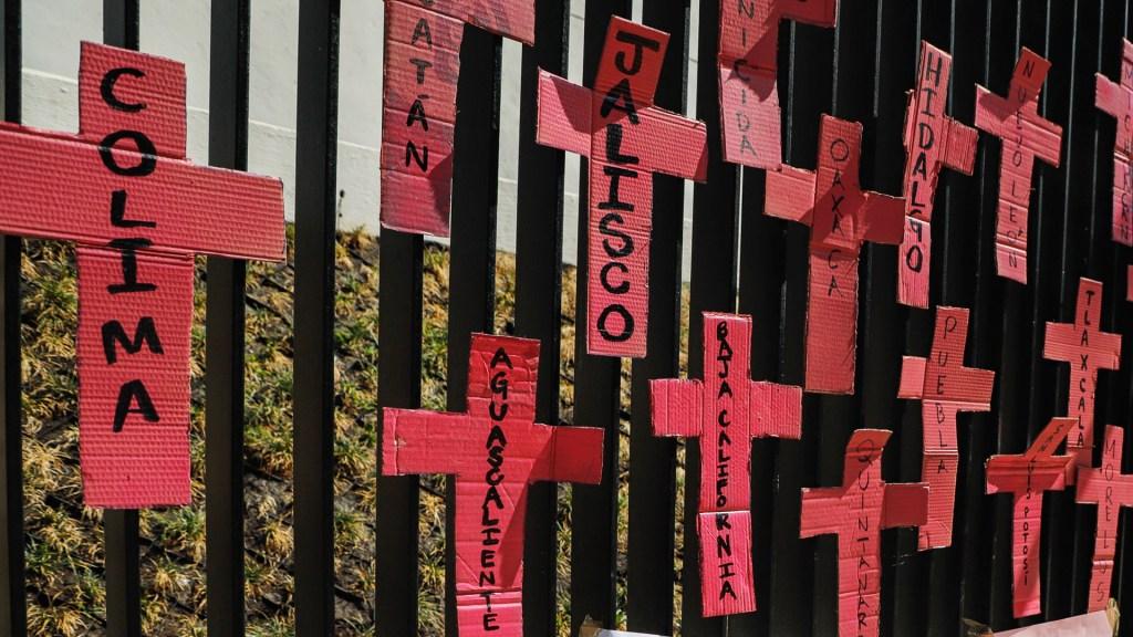 Día Internacional de la Mujer: igualdad y justicia - Protesta contra la violencia de género en México. Foto de Notimex