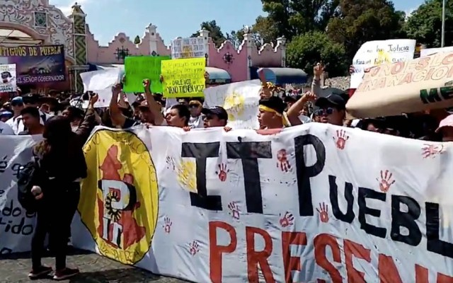 Continúan las protestas de estudiantes en Puebla - Puebla protestas estudiantes ITP 03032020