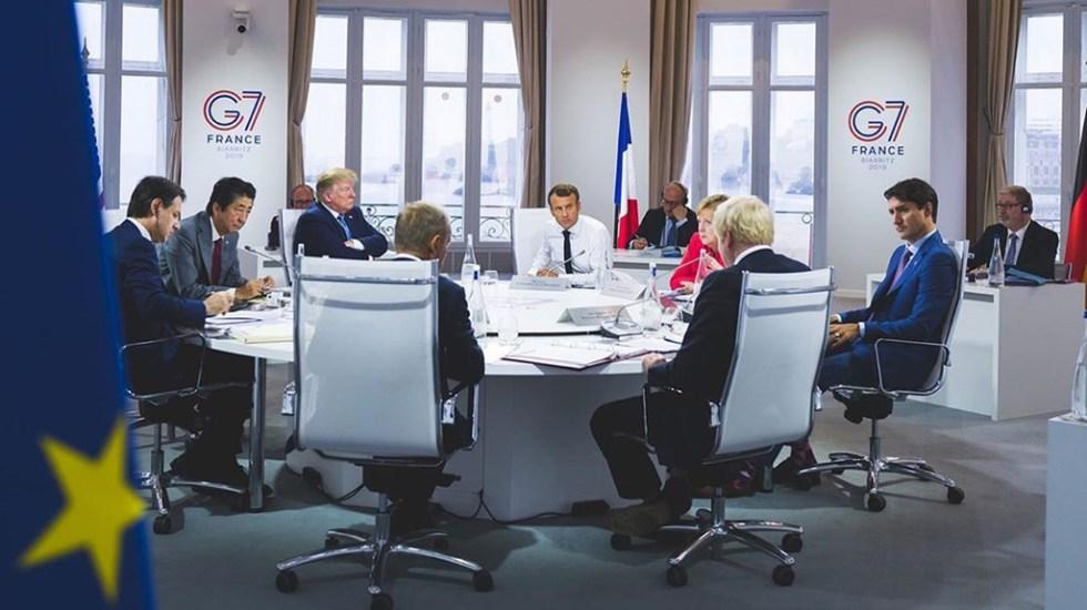 Trump pretende reunir a líderes del G7 en la Casa Blanca - Reunión de los líderes de los países miembros del G7. Foto de @g7