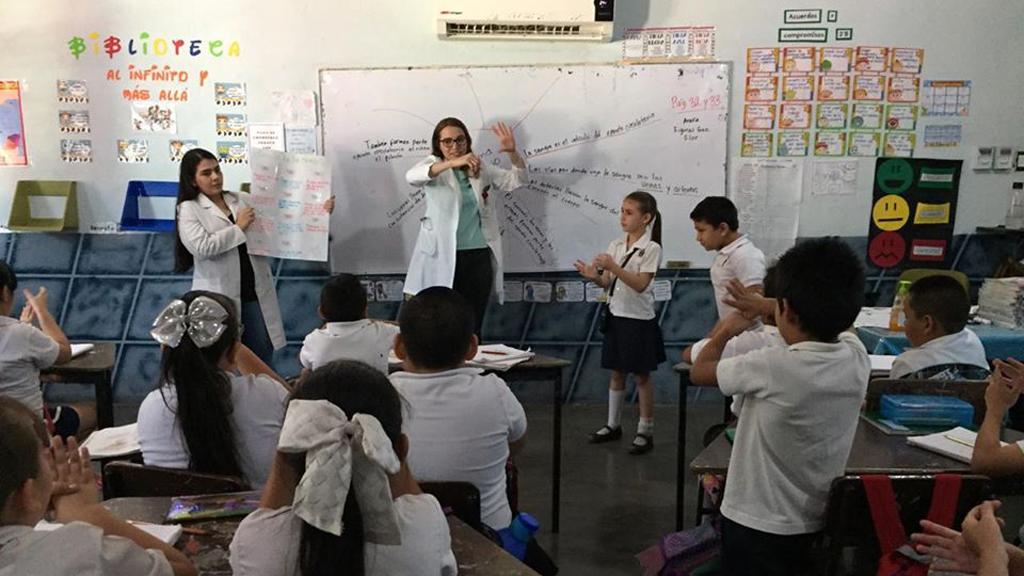Sinaloa suspende clases a partir del 20 de marzo por COVID-19 - Salón de clases en Sinaloa. Foto de @sepycsinaloa.oficial