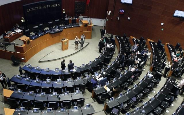 Senado aprueba que diputados suspendan sesiones por COVID-19 - Senado de la República sesión 180320201