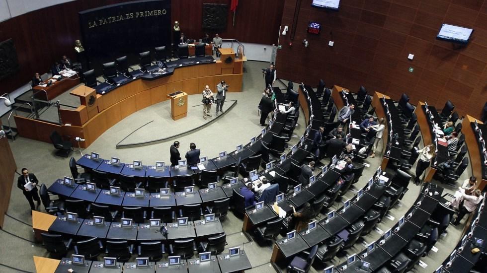 Pleno del Senado aprueba última ley secundaria del T-MEC - Senado de la República sesión 180320201