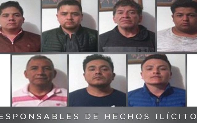 Sentencian en Edomex a expolicías por secuestro exprés - Sentenciados por secuestro exprés en Edomex. Foto de FGJEM