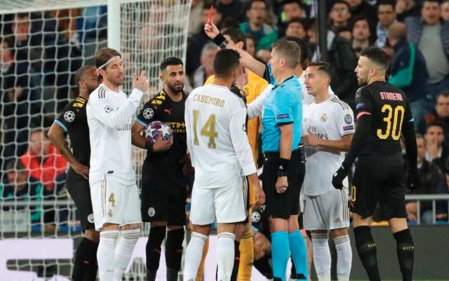 Ramos considera que Madrid debe apelar tarjeta roja - Foto de EFE
