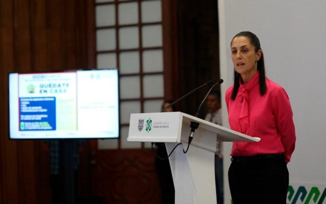 Tráfico en Ciudad de México baja 61 % por COVID-19, informa Sheinbaum - El tráfico de vehículos en Ciudad de México se redujo este lunes un 61 % y el de pasajeros del Metro un 60 %, informó la jefa de gobierno de la capital