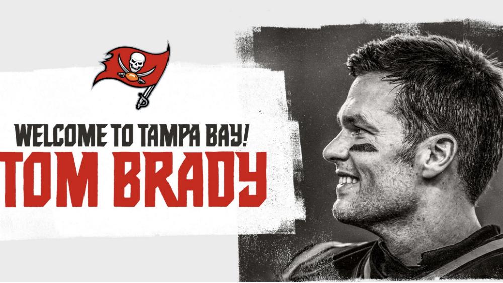 Tampa Bay oficializa contratación de Tom Brady - Foto de @Buccaneers