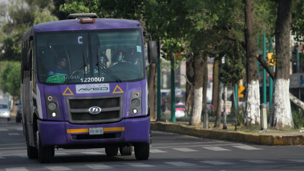 Los horarios del transporte público en CDMX durante Semana Santa - Camión RTP del transporte público de la Ciudad de México. Foto de Notimex / Archivo